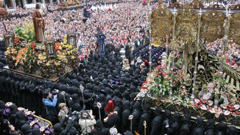 Procesión El Encuentro de León