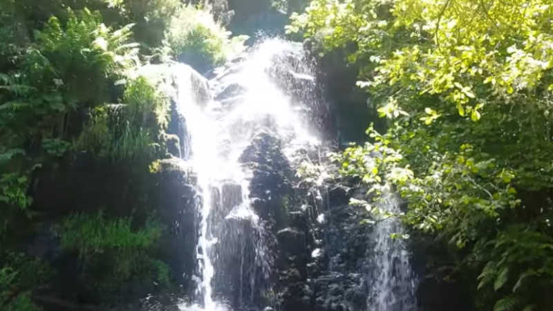 Cascada de la Fervencia