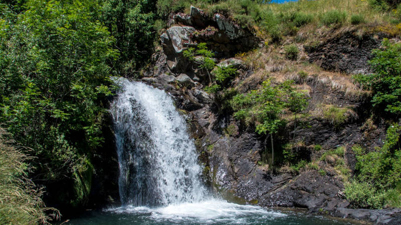 Cascadas del Río Faro