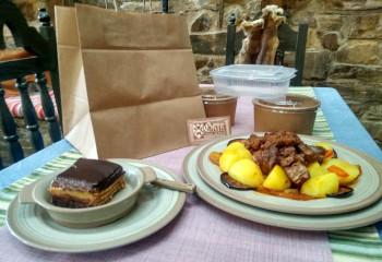 Taberna de Gaia: Servicio de comida para llevar