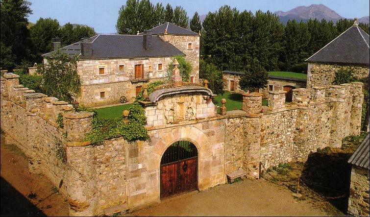 Palacio de los Quiñones en Riolago