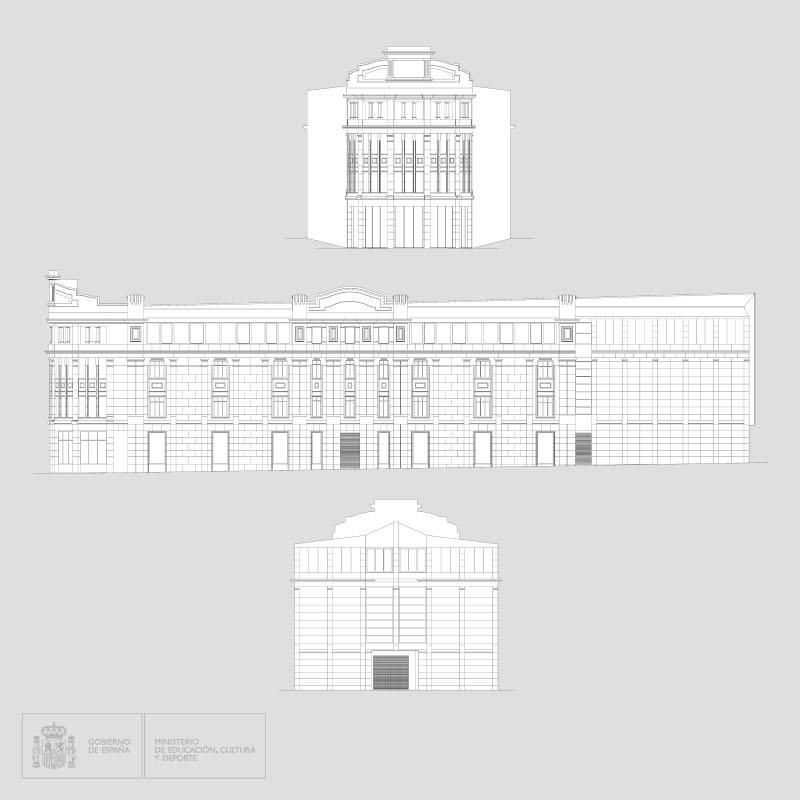 Alzados del Edificio Pallarés