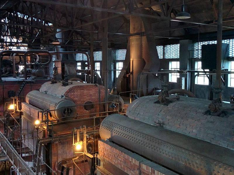Calderas Museo de la Energía de Ponferrada