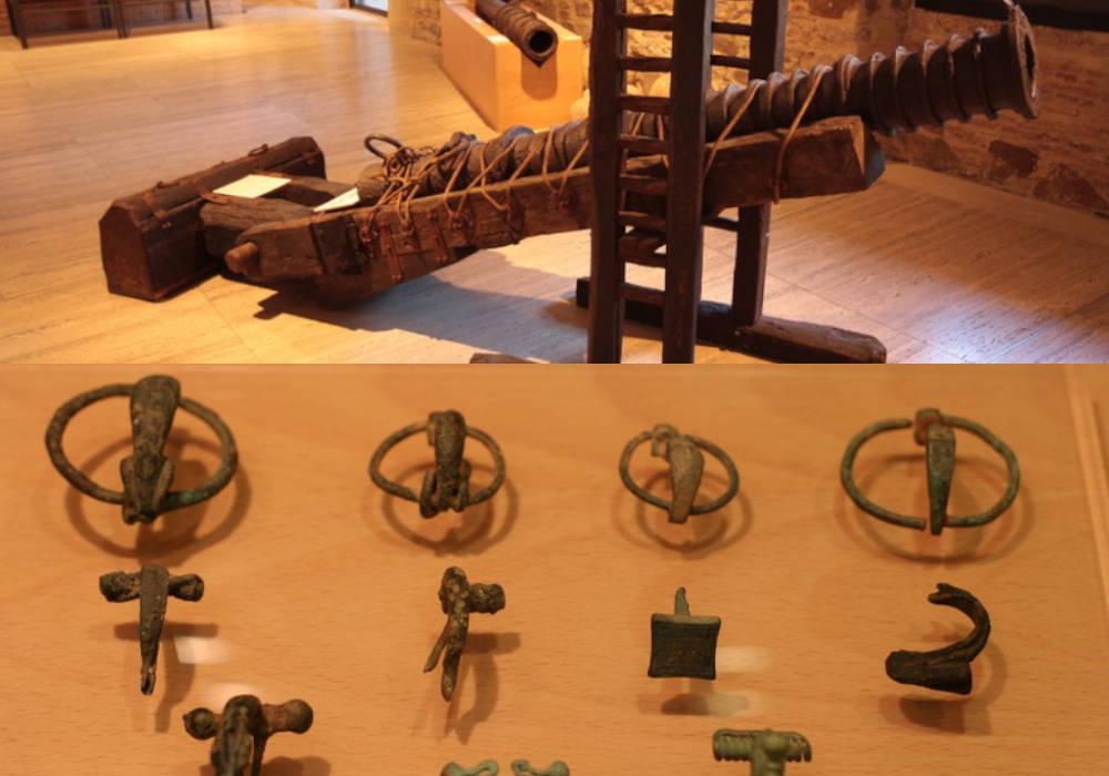 Piezas del Museo del Bierzo