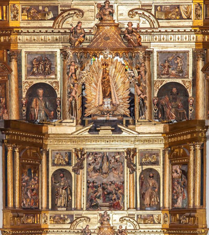 Retablo Mayor Basílica de la Encina