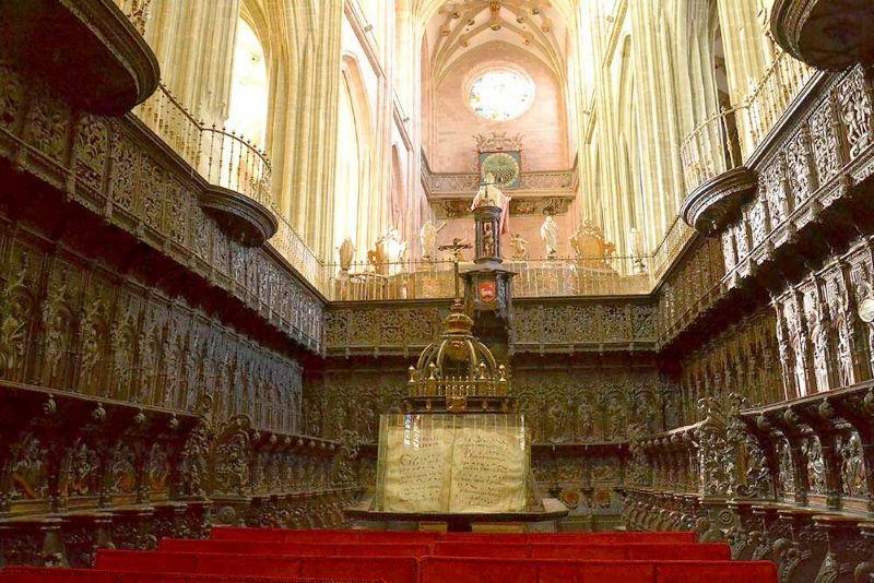 Catedral de Astorga Coro
