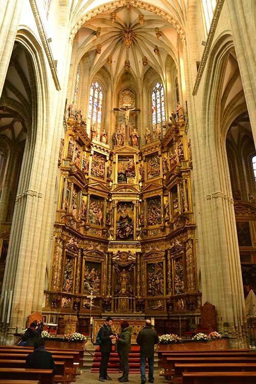 Retablo Mayor Catedral de Astorga