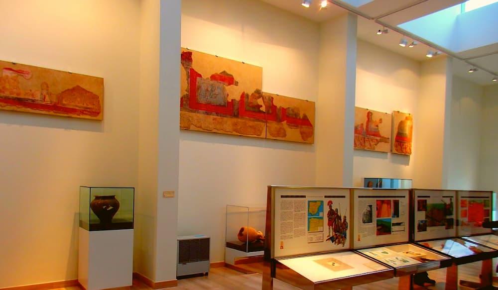 Museo Romano de Astorga, Pinturas Pompeyanas
