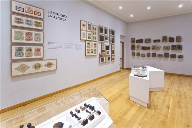 Sala imprenta Museo del Chocolate de Astorga