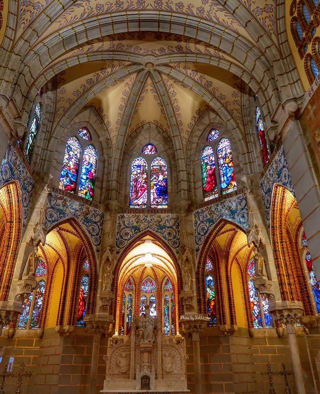 Capilla del Palacio de Gaudí