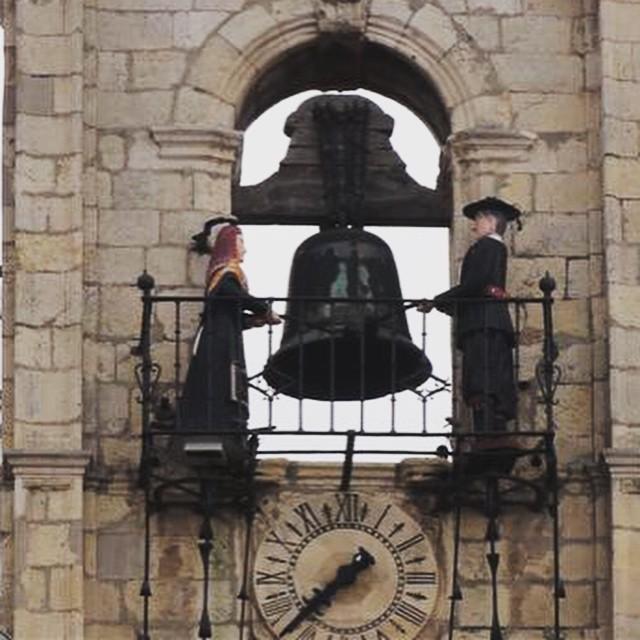 Reloj de os Maragatos de Astorga