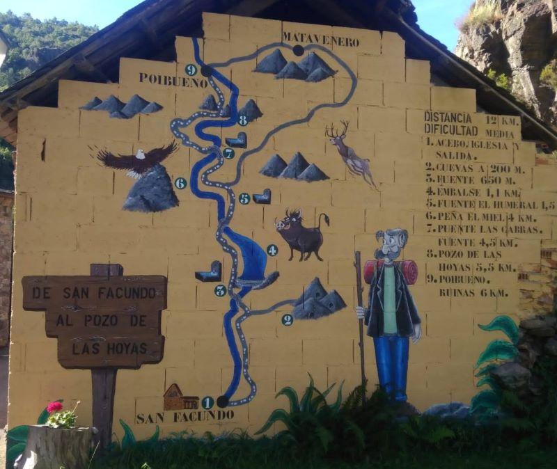 Ruta San Facundo-Matavenero-Poibueno