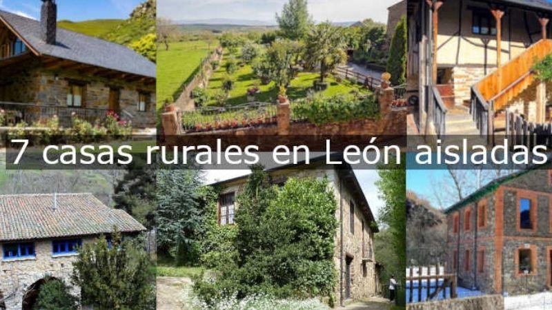 Casas Rurales en León aisladas