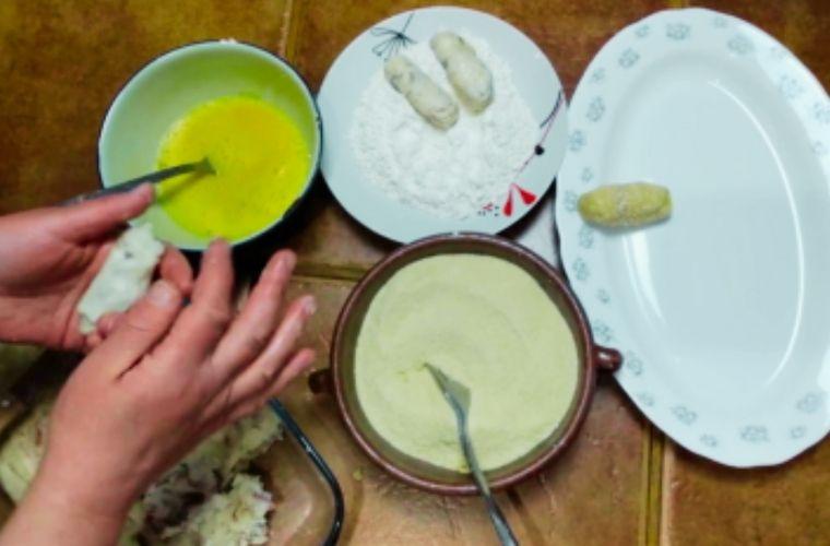 Receta Croquetas de Cocido, preparación 1