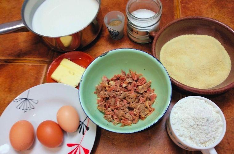 Ingredientes Croquetas de Cocido