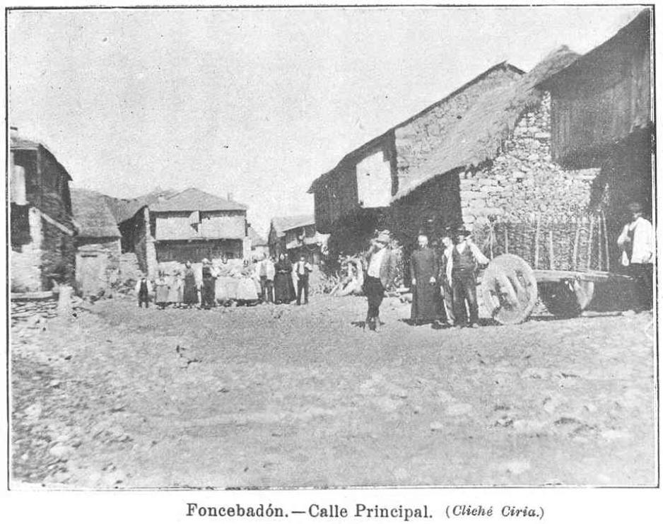 Foncebadón, Calle Real