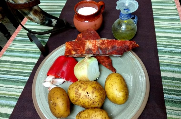 Ingredientes Patatas Guisadas con Costillas