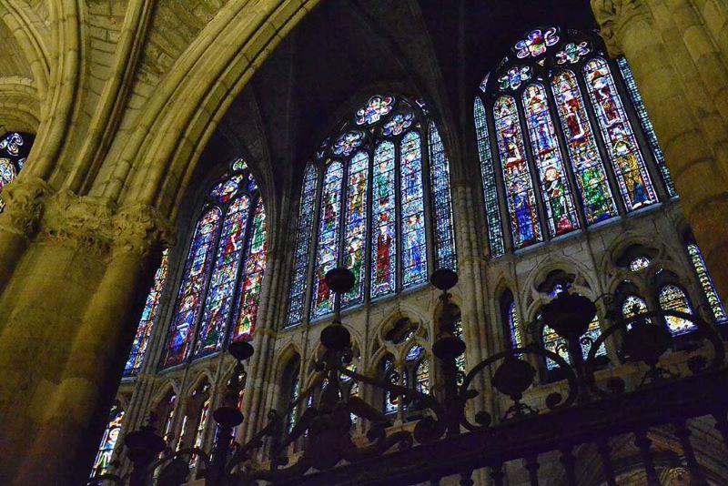 Que ver en León en un día, Vidrieras de la Catedral